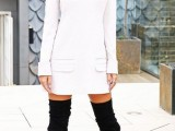 20 Fall Outfits With Thigh-High Boots To Try This Season