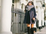 20 Fall Outfits With Thigh-High Boots To Try This Season4