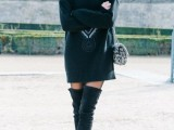 20 Fall Outfits With Thigh-High Boots To Try This Season7