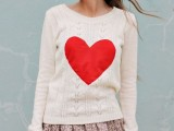 20 Ideas Of Heart Print Shirts For Valentine's Day15