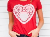 20 Ideas Of Heart Print Shirts For Valentine's Day19
