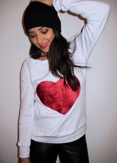 Picture Of Ideas Of Heart Print Shirts For Valentine's Day 3