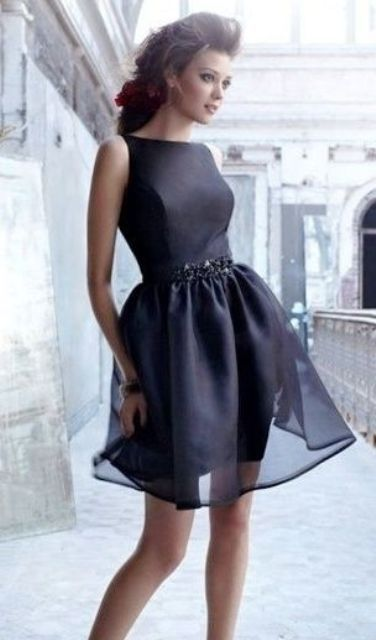 Ideas Of Little Black Dress For Valentine's Day Date