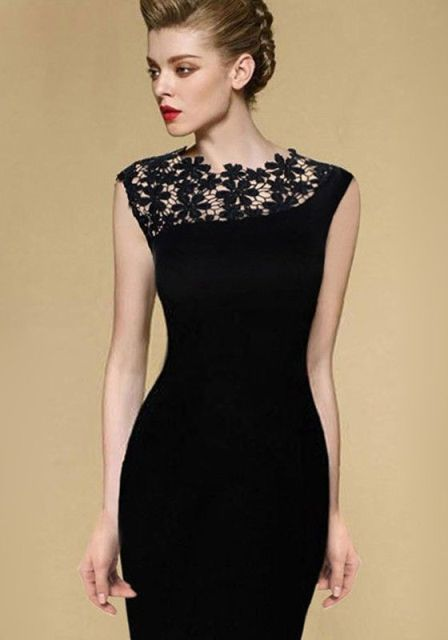 20 Ideas Of A Little Black Dress For A Valentine's Day Date
