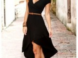 20 Ideas Of Little Black Dress For Valentine's Day Date3