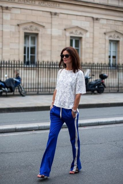20 Stylish Ways To Wear Side-Stripe Pants