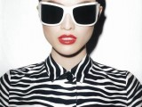 20 Trendy White Frame Sunglasses For This Summer5