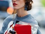 20 Trendy White Frame Sunglasses For This Summer6