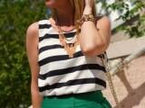 20 Trendy White Frame Sunglasses For This Summer9