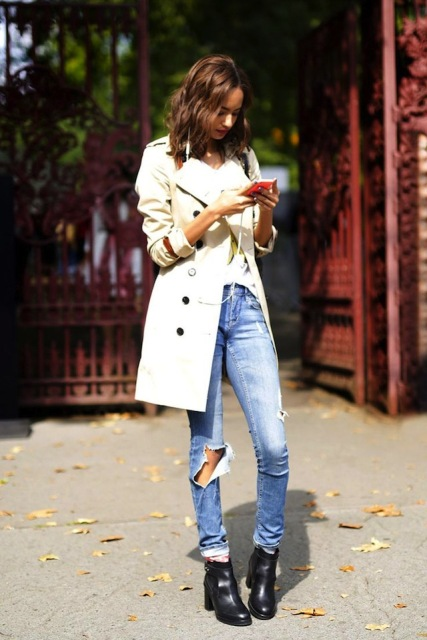 Ways To Wear Cuffed Jeans
