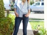 20 Ways To Wear Cuffed Jeans11