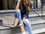 20 Ways To Wear Cuffed Jeans12