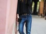 20 Ways To Wear Cuffed Jeans13