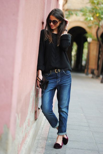 Awesome Ways To Wear Cuffed Jeans