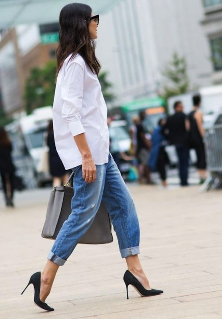 20 Awesome Ways To Wear Cuffed Jeans