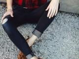 20 Ways To Wear Cuffed Jeans5