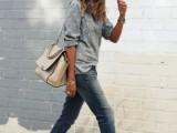 20 Ways To Wear Cuffed Jeans8