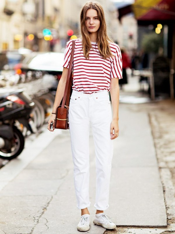 Picture Of awesome ways to wear white jeans this summer  14