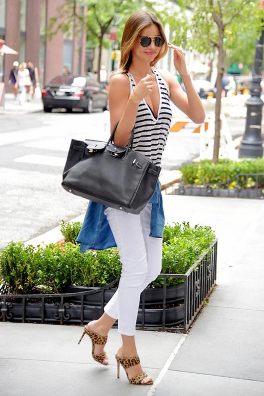 Picture Of awesome ways to wear white jeans this summer  7