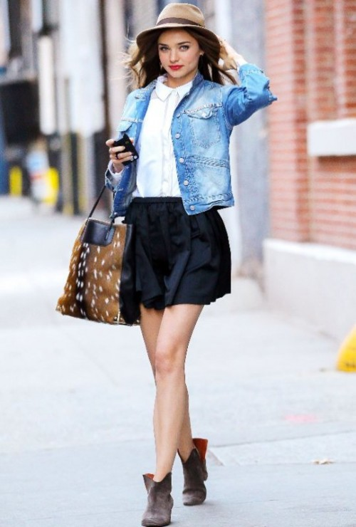 20 Cool And Trendy Ways Of Wearing A Jean Jacket - Styleoholic