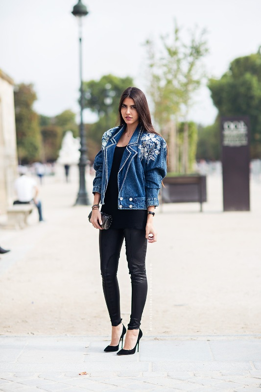 Picture Of cool and trendy ways of wearing a jean jacket  20