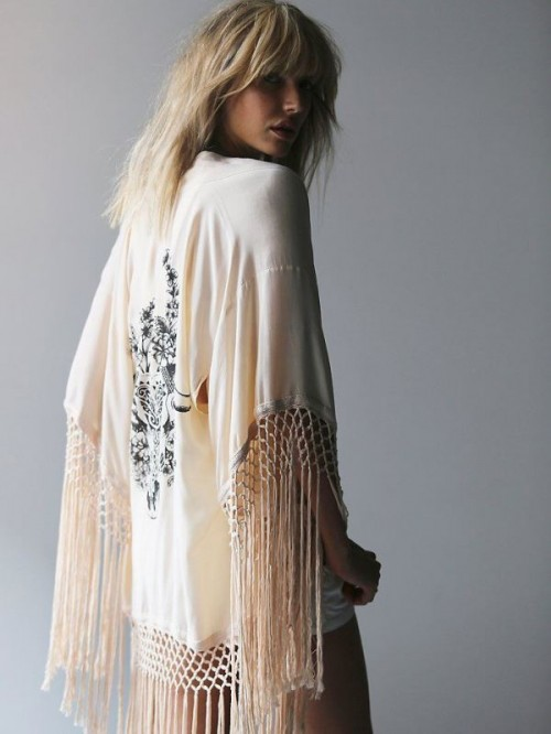 20 Cool Fringe Cover Ups To Rock At The Beach