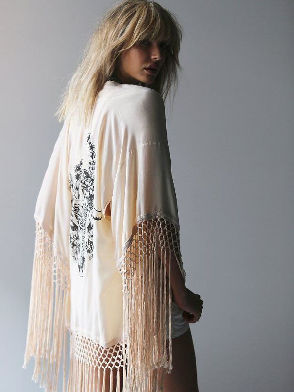 Picture Of cool fringe cover ups to wear to the beach  2