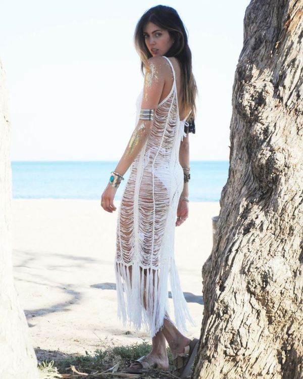 Picture Of cool fringe cover ups to wear to the beach  20