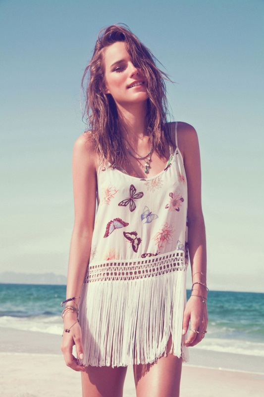 Picture Of cool fringe cover ups to wear to the beach  6