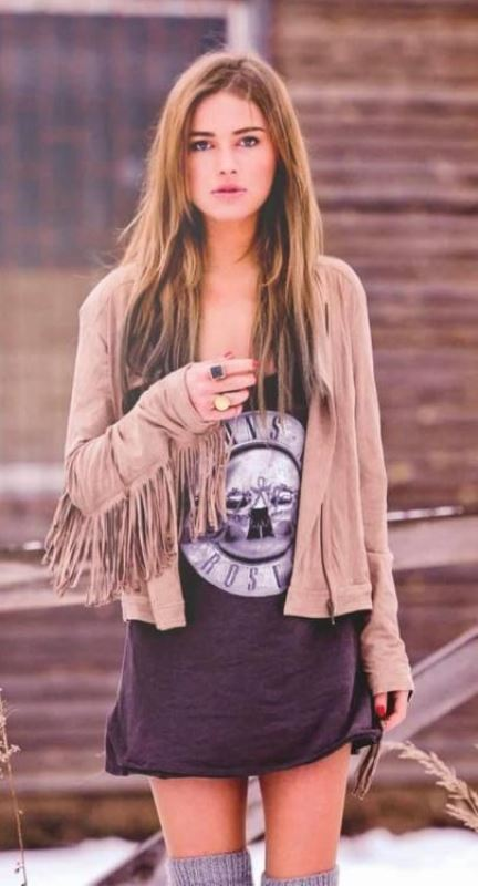 Picture Of cool ways to get into fringe fever stylishly  18