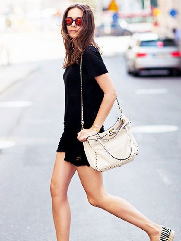 Picture Of cool ways to rock dark colors in the summer  20
