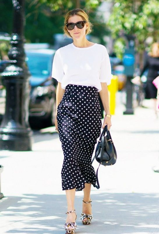 Picture Of cool ways to rock dark colors in the summer  5