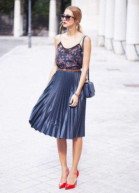 Picture Of cool ways to rock dark colors in the summer  6