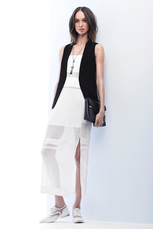 Picture Of cool ways to rock dark colors in the summer  8
