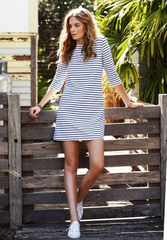 Picture Of fresh and cool ways to pull off stripes this summer  1