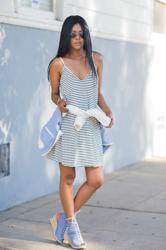 Picture Of fresh and cool ways to pull off stripes this summer  11