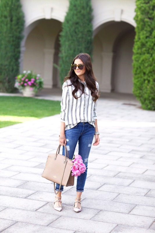 Picture Of fresh and cool ways to pull off stripes this summer  12