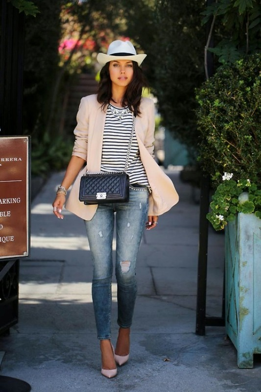 Picture Of fresh and cool ways to pull off stripes this summer  19