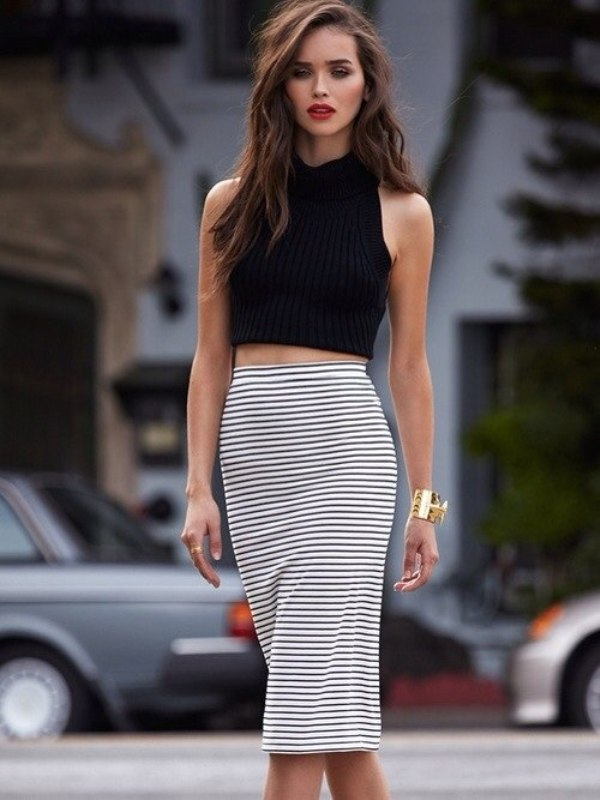 Picture Of fresh and cool ways to pull off stripes this summer  4
