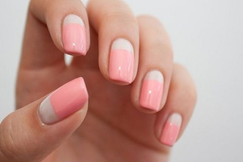 Picture Of prettiest ways to wear pink nails now  11