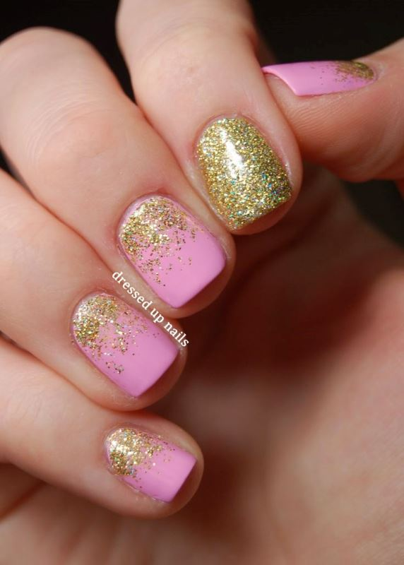 Picture Of prettiest ways to wear pink nails now  14