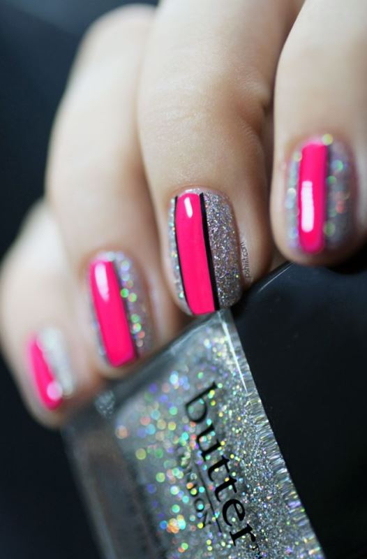 Picture Of prettiest ways to wear pink nails now  7