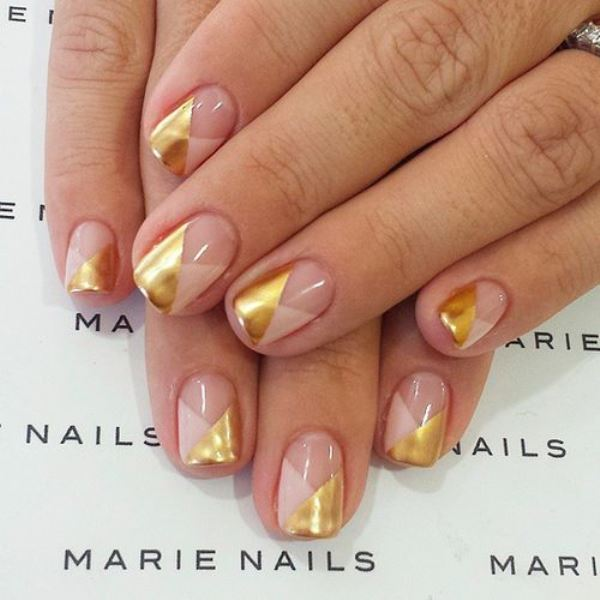 Picture Of prettiest ways to wear pink nails now  8