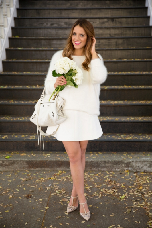 Picture Of stunning ways to rock white on white  1