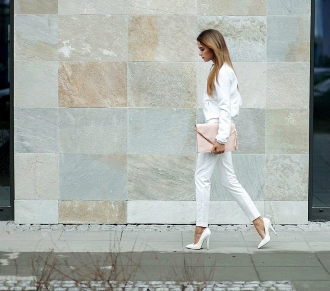 Picture Of stunning ways to rock white on white  10