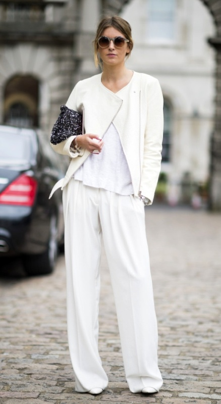 Picture Of stunning ways to rock white on white  13
