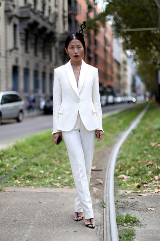 Picture Of stunning ways to rock white on white  19