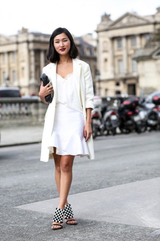 Picture Of stunning ways to rock white on white  2