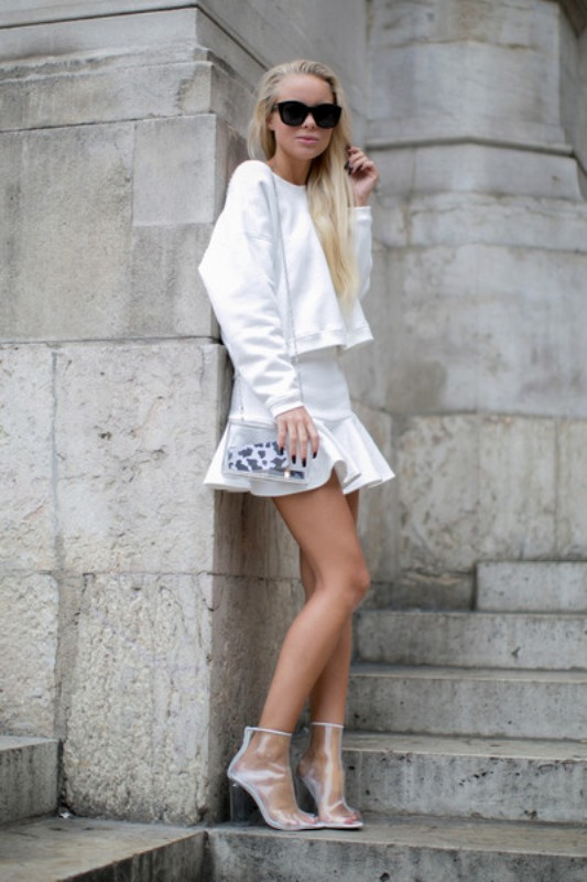 Picture Of stunning ways to rock white on white  8