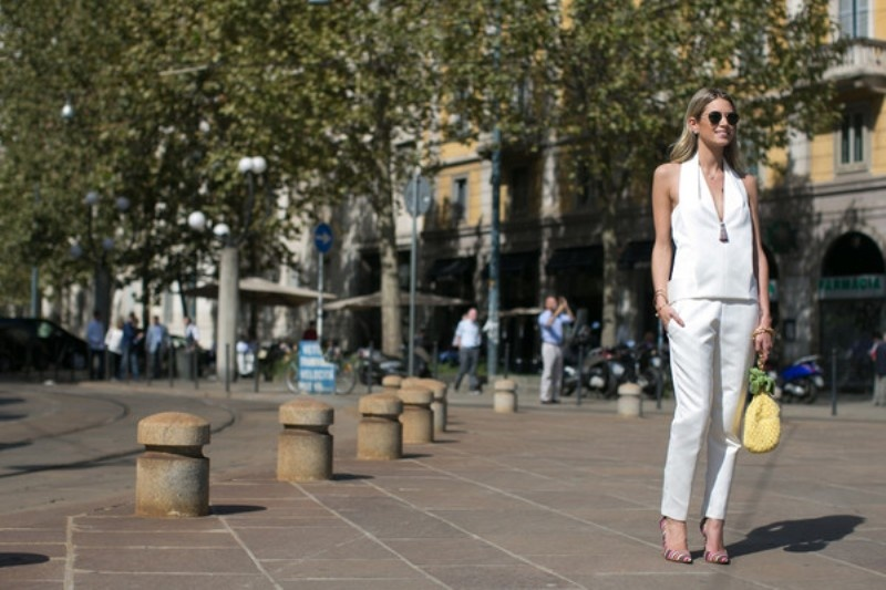 Picture Of stunning ways to rock white on white  9